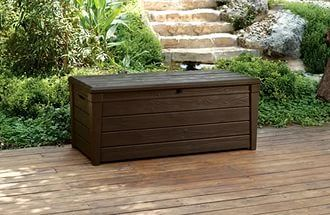 Сундук WOOD LOOK STORAGE BOX